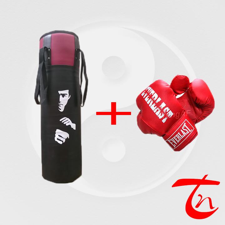 vỏ bao cát và găng tay boxing - võ phục trung nghĩa 1