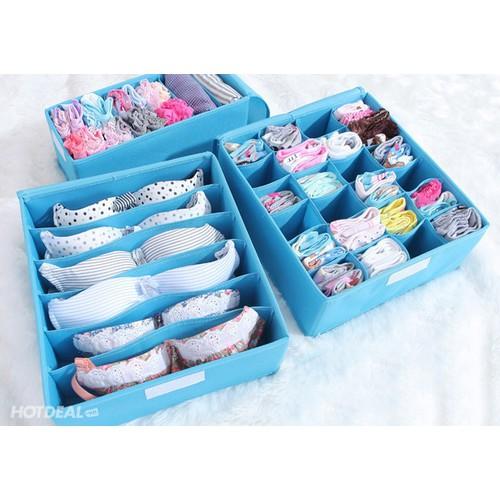 Combo 3 hộp đựng đồ lót bằng vải không dệt tiện dụng - 4224343 , 10393072 , 15_10393072 , 79000 , Combo-3-hop-dung-do-lot-bang-vai-khong-det-tien-dung-15_10393072 , sendo.vn , Combo 3 hộp đựng đồ lót bằng vải không dệt tiện dụng