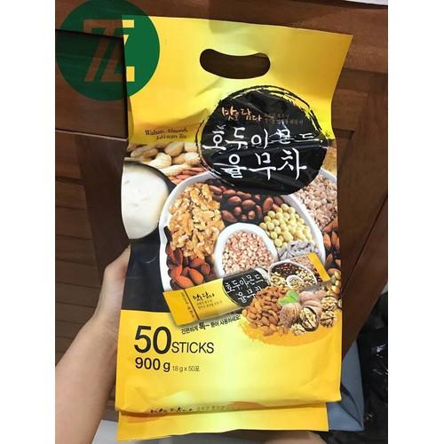Bột ngũ cốc Walnuts Almonds Job Tears Tea Hàn Quốc 900g 50 Stick x 18g - 4214812 , 10380819 , 15_10380819 , 329000 , Bot-ngu-coc-Walnuts-Almonds-Job-Tears-Tea-Han-Quoc-900g-50-Stick-x-18g-15_10380819 , sendo.vn , Bột ngũ cốc Walnuts Almonds Job Tears Tea Hàn Quốc 900g 50 Stick x 18g