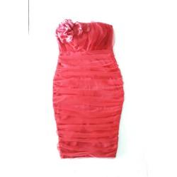Đầm ôm body cúp ngực lưới cao cấp đầm dự tiệc da hội sang trọng