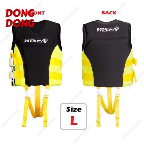 Áo phao bơi cứu hộ YELLOW HISEA cho người dưới 50kg size L - POKI - 4230253 , 10400847 , 15_10400847 , 599000 , Ao-phao-boi-cuu-ho-YELLOW-HISEA-cho-nguoi-duoi-50kg-size-L-POKI-15_10400847 , sendo.vn , Áo phao bơi cứu hộ YELLOW HISEA cho người dưới 50kg size L - POKI
