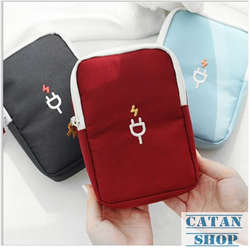 Túi sạc điện tử chống shock Hàn Quốc trong vali Bag in Bag DL09-Tsac
