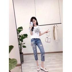 Set áo và quần jean