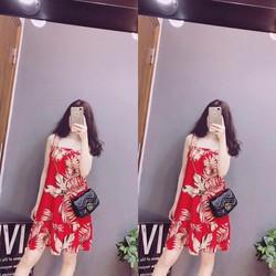 Đầm suông hai dây cực xinh