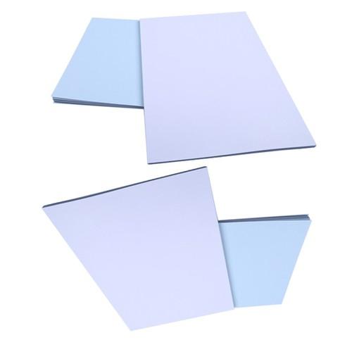Giấy Decal A4 đế xanh - 1 xấp 100 tờ - Loại tốt nhất - Siêu dính