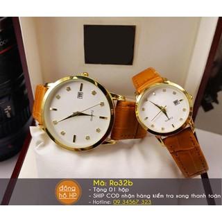 Đồng hồ cặp dây da - 7108 thumbnail
