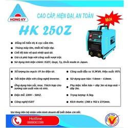 Máy hàn điện tử  Hồng Ký HK 250Z - Tặng Kèm Mặt Nạ Hàn Và Bao Tay Len