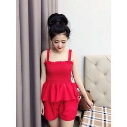 Sét áo 2 dây và váy voan-Shop LucyLucy354