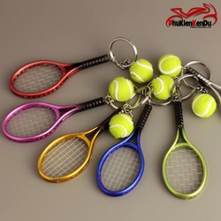 Móc Khóa Vợt Tennis