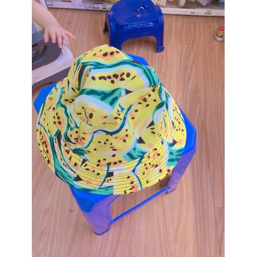 Mũ bucket hoa quả