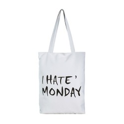 Túi Vải Đeo Vai Tote Bag I Hate Monday XinhStore