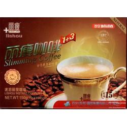 Cafe Giảm Cân Lishou Slimming  chính hãng thái lan hộp 15 gói