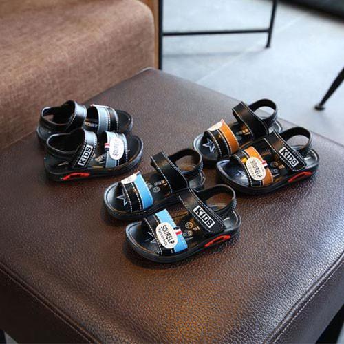 Sandal da pu đế mềm cho trẻ em - DT039-09