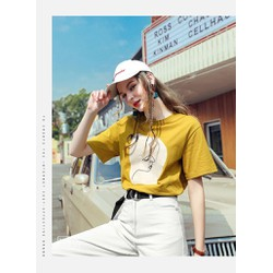 Áo thun nữ in - shop mg online
