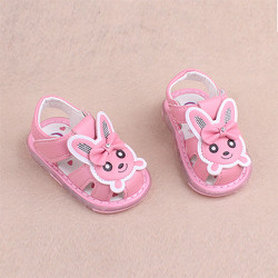 Sandal đế mềm cho bé gái kiểu chú mèo con dễ thương - SD64-010