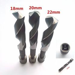 Bộ 3 mũi khoan 18mm,20mm,22mm