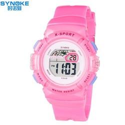 Đồng hồ trẻ em bé gái Synoke 9568 dây silicon chống nước