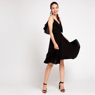 Đầm Xoè Đi Tiệc Tuyệt Đẹp Hity Đầm Dạ Hội DRE041 Đen Huyền Bí - DRE041-ĐEN HUYỀN BÍ thumbnail