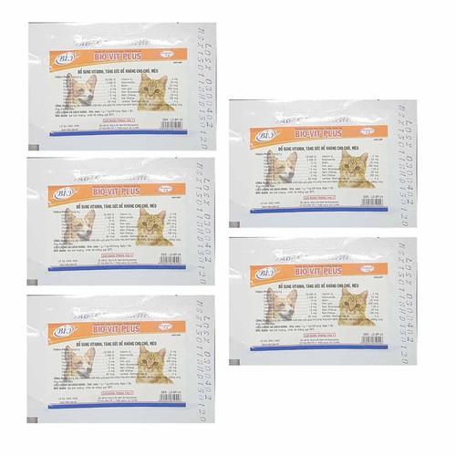 🍬Bio_Vit Thuốc bổ sung vitamin, tăng sức đề kháng chó mèo