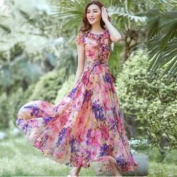 Váy đầm maxi nữ thời trang