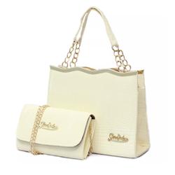 Bộ túi xách kèm ví Sóng Vàng AL604  - Phân Phối chính Thức