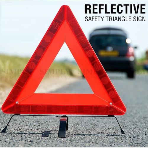 Biển tam giác cảnh báo phản quang cho xe hơi loại tốt