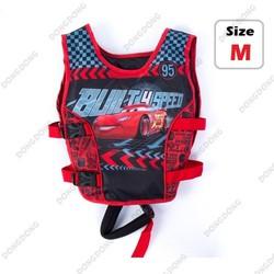 Phao bơi trẻ em, áo phao bơi cho Bé từ 2 - 6 tuổi - size M Car