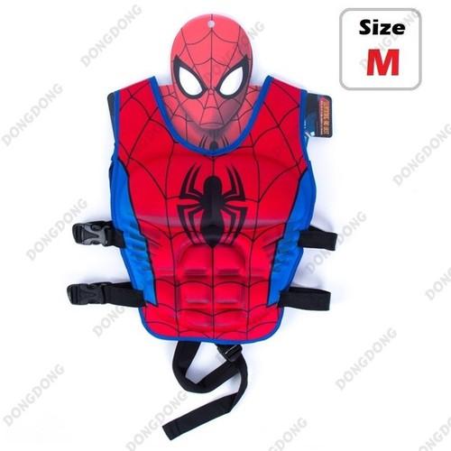 Phao bơi trẻ em, áo phao bơi cho Bé từ 2 - 6 tuổi - size M Spiderman