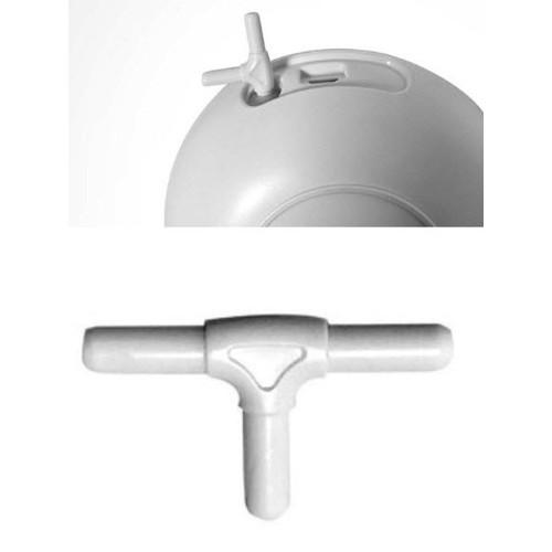 Đầu chia chữ T phụ kiện nâng cấp máy hút sữa đơn thành đôi Gluck