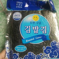 Rong biển dùng để làm cơm cuộn 100 lá