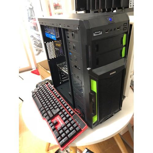 máy tính chơi game, pc gaming core i5 4590s ram 8g vga rx470 4g ssd 120g hdd 250g chiến mọi loại game hiện nay giá  cực rẽ