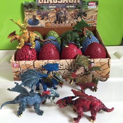 Combo hộp 12 quả trứng khủng long có cánh cho bé loại to
