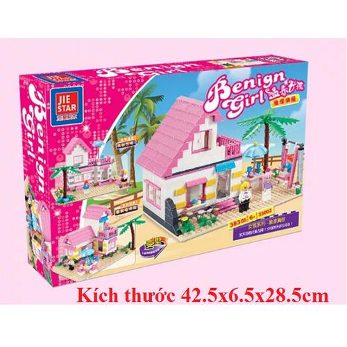 Đồ chơi lắp ghép  trẻ em Bộ ghép mô hình ngôi nhà cho bé gái - 4239589 , 10412881 , 15_10412881 , 320000 , Do-choi-lap-ghep-tre-em-Bo-ghep-mo-hinh-ngoi-nha-cho-be-gai-15_10412881 , sendo.vn , Đồ chơi lắp ghép  trẻ em Bộ ghép mô hình ngôi nhà cho bé gái