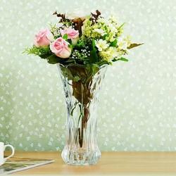 Lọ cắm hoa pha lê cao 30cm