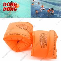 Phao bơi trẻ em đeo tay - Bộ 2 chiếc giành cho người tập bơi Cam