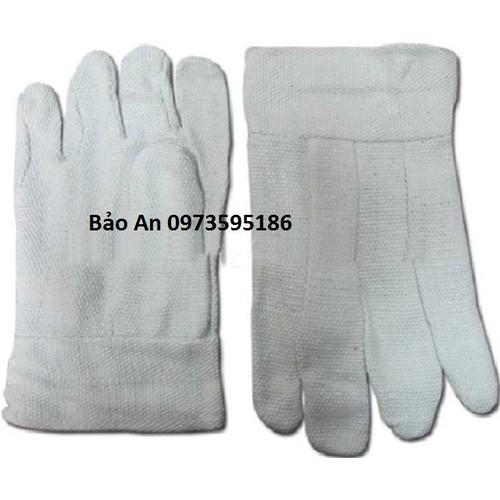 Găng tay chịu nhiệt Amiang chống nóng BA70