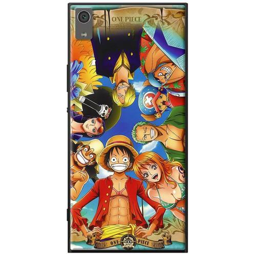 Ốp lưng nhựa dẻo Sony XA1 One Piece chụm đầu