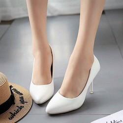 Giày cao gót bít mũi nhọn, 7 phân