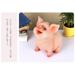 Lợn sứ 3D tiết kiệm tiền- Heo đất tiết kiệm