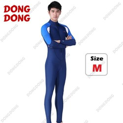Quần áo lặn biển dài tay NAM - BLUE size M