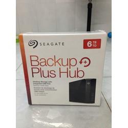 Ổ Cứng gắn ngoài Seagate Backup Hub 6TB - USB 3.0