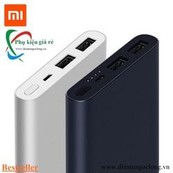 Pin Sạc Dự Phòng Xiaomi 2 USB Gen 2S 10000 mAh 2018 Chính Hãng