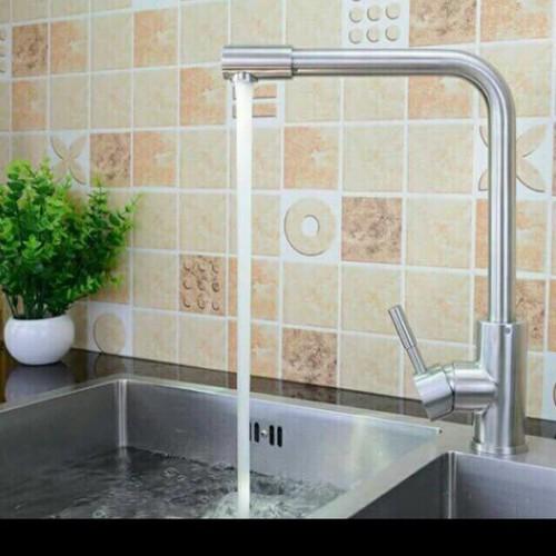 Vòi rửa chén nóng lạnh inox 304