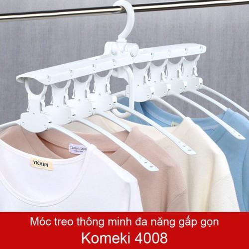 Móc Treo Quần Áo Đa Năng Thông Minh Gập Gọn Komeki 4008 Hàng Nhật - 5029594 , 10026715 , 15_10026715 , 150000 , Moc-Treo-Quan-Ao-Da-Nang-Thong-Minh-Gap-Gon-Komeki-4008-Hang-Nhat-15_10026715 , sendo.vn , Móc Treo Quần Áo Đa Năng Thông Minh Gập Gọn Komeki 4008 Hàng Nhật