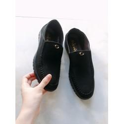Giày Nam Da mềm Đế dẻo mang êm chất lượng