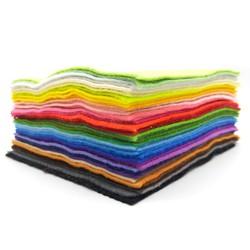 Combo 10 tấm vải nỉ mềm khổ 22x22 cm