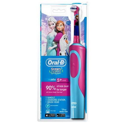 Bàn chải điện cho bé gái Oral-B - 5947084 , 10030376 , 15_10030376 , 419900 , Ban-chai-dien-cho-be-gai-Oral-B-15_10030376 , sendo.vn , Bàn chải điện cho bé gái Oral-B
