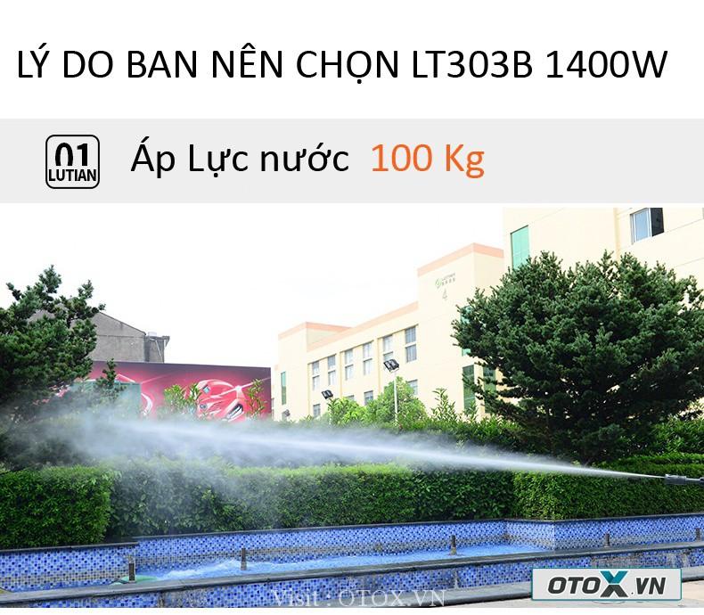 Máy rửa xe áp lực cao LUBA - Lutian LT 303B 1400W 8