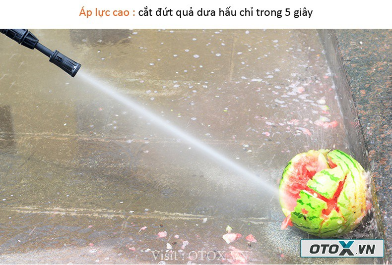 Máy rửa xe áp lực cao LUBA - Lutian LT 303B 1400W 18
