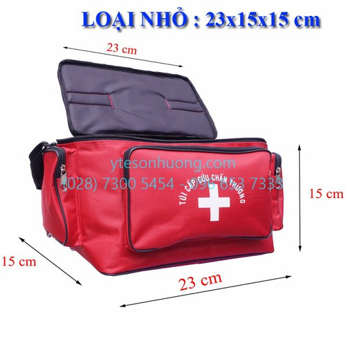 Túi cứu thương Đỏ Nhỏ
